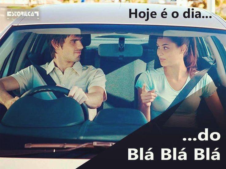 Hoje é o dia ... do Blá Blá Blá quem tem conversas importantes no carro ? #istacars #automoveis #automoveisusados #seminovos #intaauto #seguranca #confianca #qualidade #estorilcar #estoril