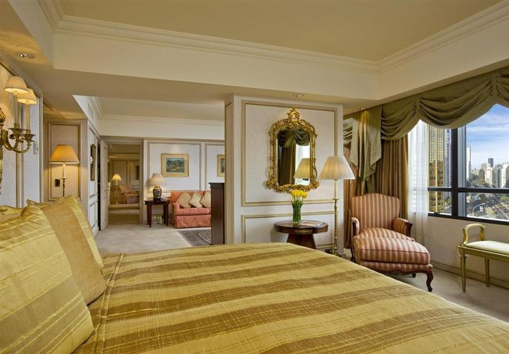 https://flic.kr/p/dTUcen | Park Tower, Buenos Aires—St. Regis Suite Bedroom | St. Regis Suite Bedroom Guest Room