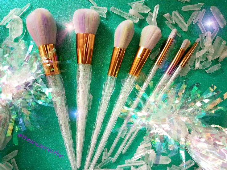 This 7 Piece make up set is all kinds of amazing!! The brushes are incredibly soft and high quality the bristles do not fall out. These make up brushes are made from the same manufacturer that makes Lancome and other department store beauty brands so again they are TOP QUALITY. To sweeten the deal I have added a FREE, thats right FREE.99 silicon heart shaped make up brush cleaner now how awesome is that?:) I have limited supply so cash them while you can!  #sparklealways