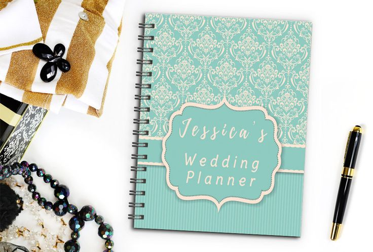 Victorian Bridal Wedding Planner Book, Bridesmaid Wedding Planner, Maid of Honor Wedding Planner Notebook, Boho Wedding Checklist Notebook by TwoCrewDesign on Etsy