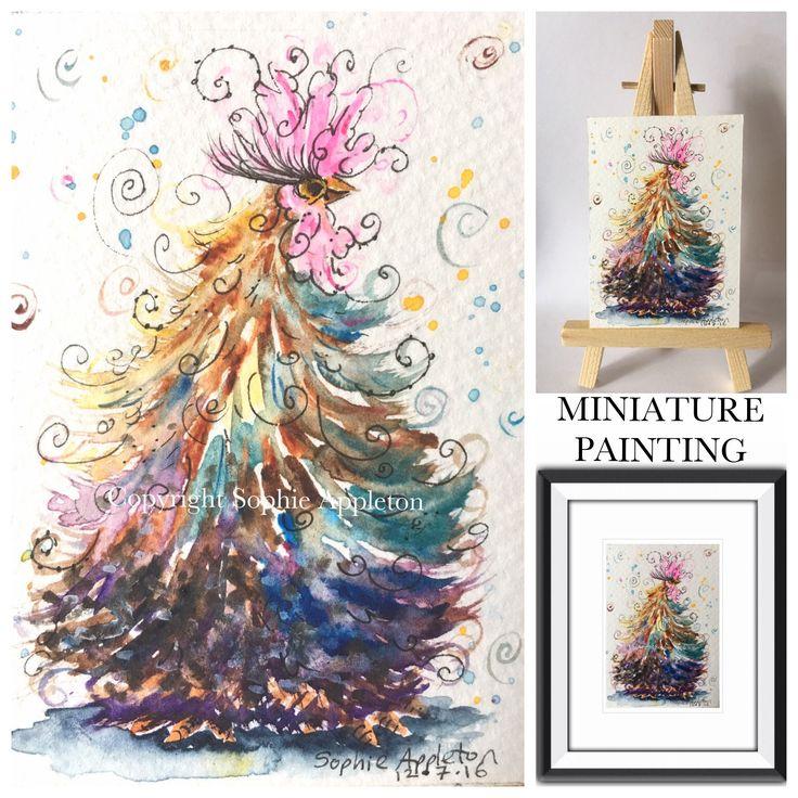Swirly Soph Bargain Miniature Paintings – Swirly Soph