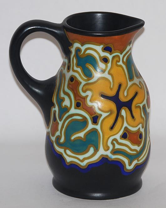 Gouda Pottery Zenith Ewer from Just Art Pottery