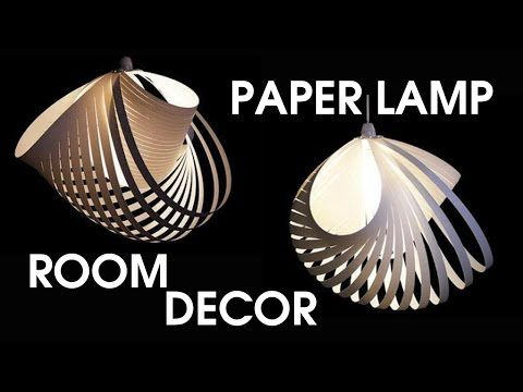 Tutorial 19 - Paper Lamp Ball Twist Spiral - YouTube