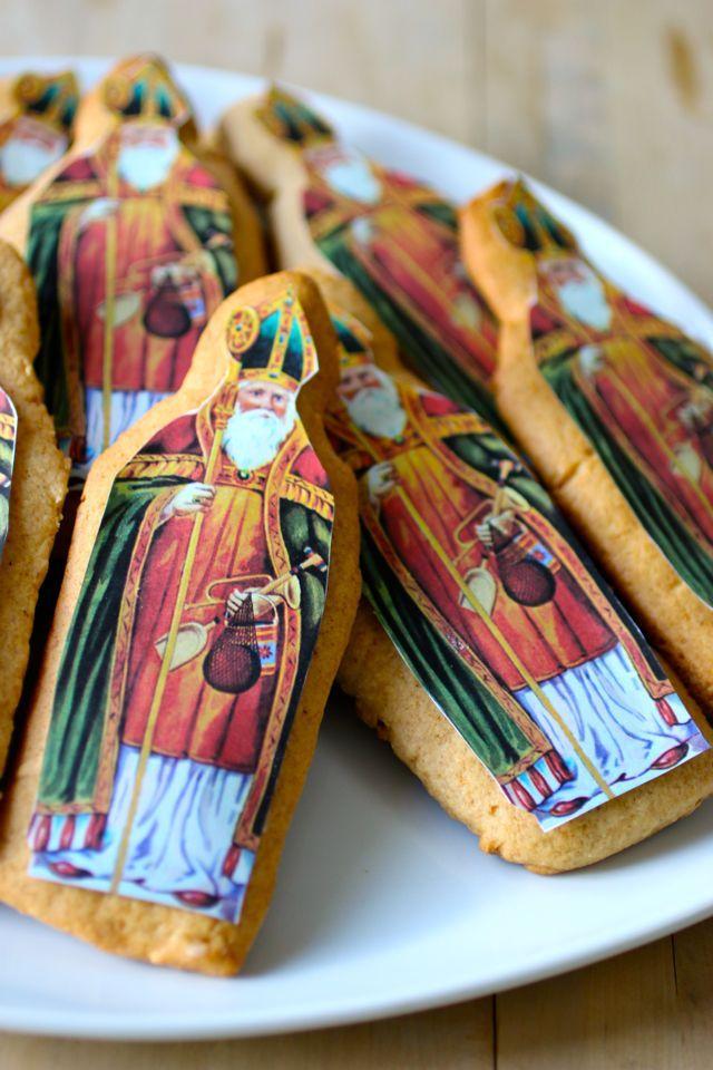 St Nicholas Gingerbread Cookies (Pains d'épices de la Saint Nicolas) - St Nicholas holiday - Lorraine/Alsace (France). #196flavors