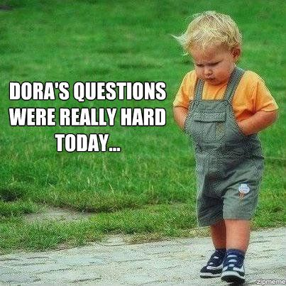 .: Dora S Questions, Giggle, Funny Stuff, Humor, Funnies, Kids, Smile