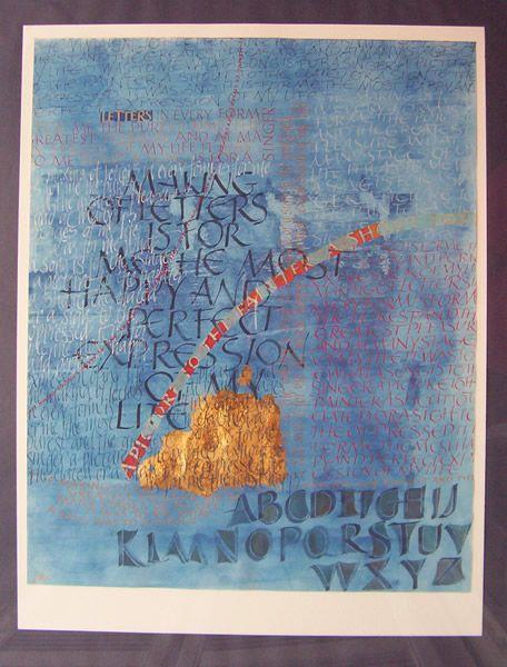 Adrianne Koevoets, kalligrafie, docente kalligrafie, kunst in opdracht