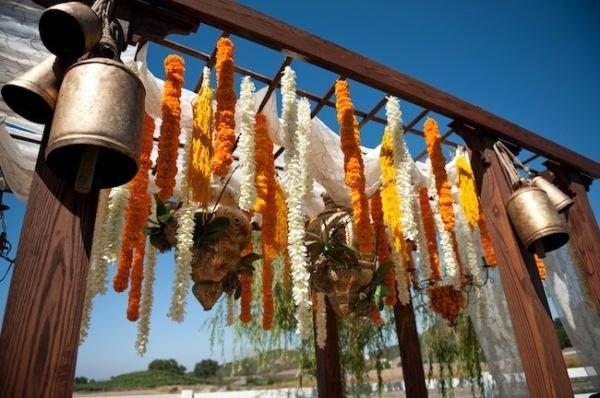 Inspiration: Wedding Entrance -- #Indian #Wedding #Decor