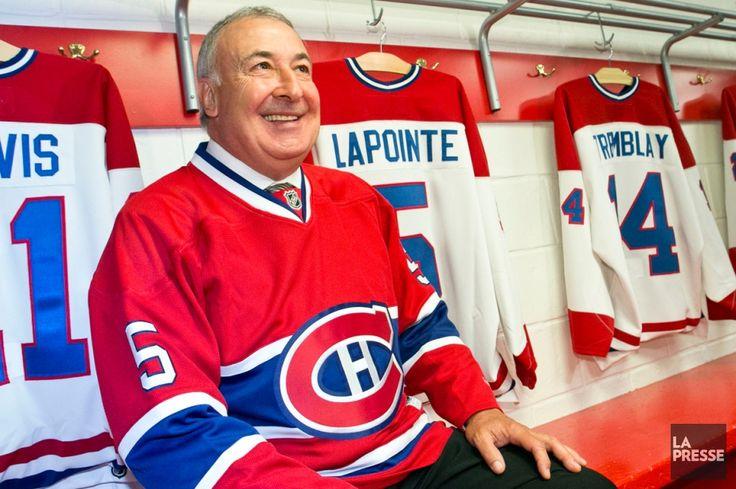 Guy Lapointe visualise le moment où la bannière à son nom sera hissée dans les hauteurs du Centre Bell depuis que le Canadien lui a annoncé la nouvelle (La Presse).