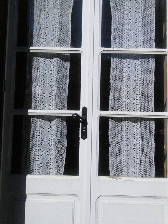 Check out this item in my Etsy shop https://www.etsy.com/listing/471342136/pair-curtains-crochet-panels-ivory-filet