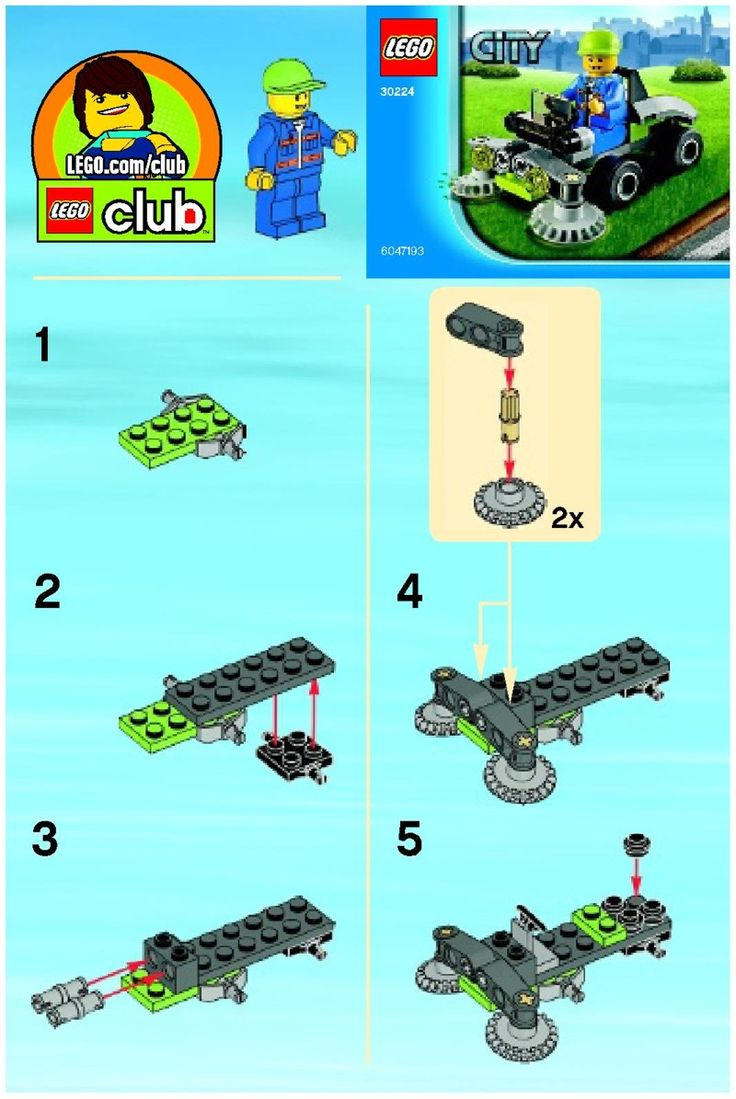 Pin lego 60032 city the lego summer wave in official images on - Lego Instructions From 2013