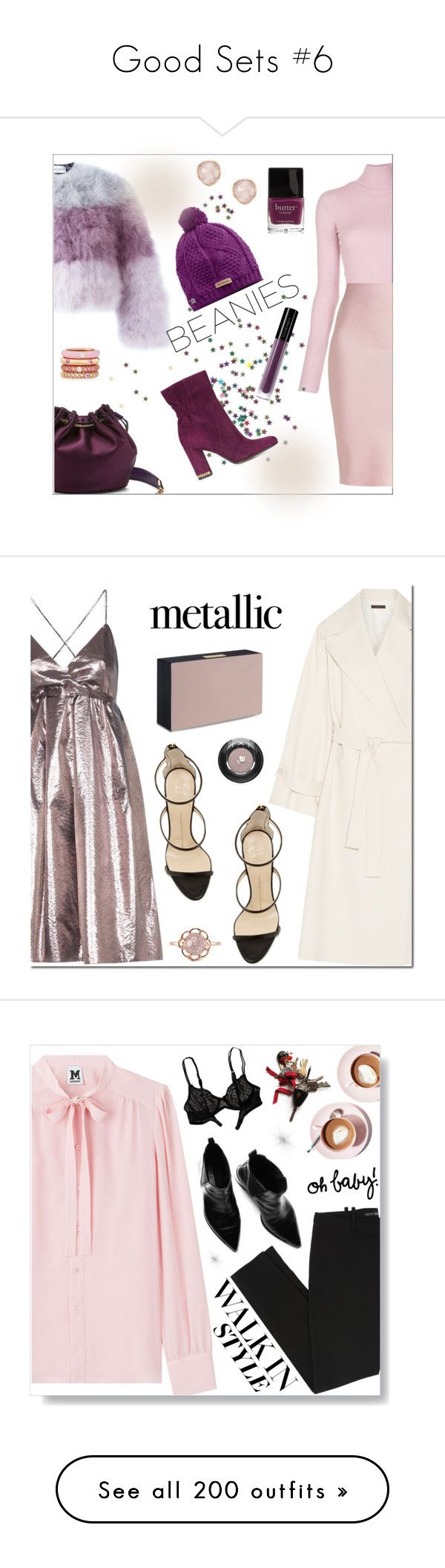 """""""Good Sets #6"""" by lullabycake ❤ liked on Polyvore featuring Daizy Shely, Columbia, Diane Von Furstenberg, A.L.C., Winser London, Illamasqua, MICHAEL Michael Kors, Butter London, Adolfo Courrier and Monica Vinader"""