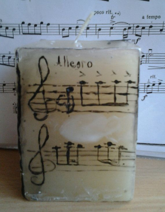 Handmade Decorative Candles by MileTa on Etsy