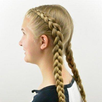 How to: Tight Dutch Braids on Yourself #Braidedhai…