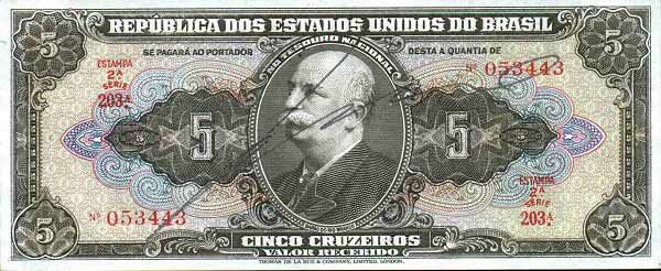 5 Крузейро (1950) Бразилия (Brazil) Южная Америка