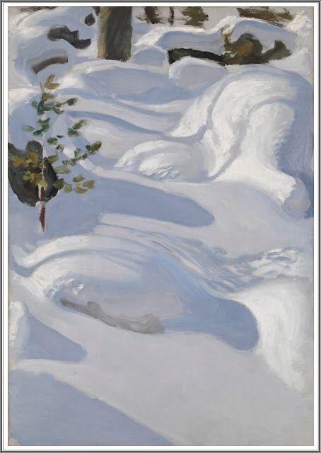 Akseli Gallen-Kallela (1865-1931), Neige au Soleil - 1906