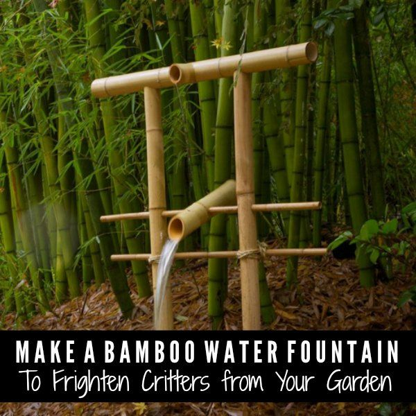 How To Make A Bamboo Water Fountain - DIY Gift World