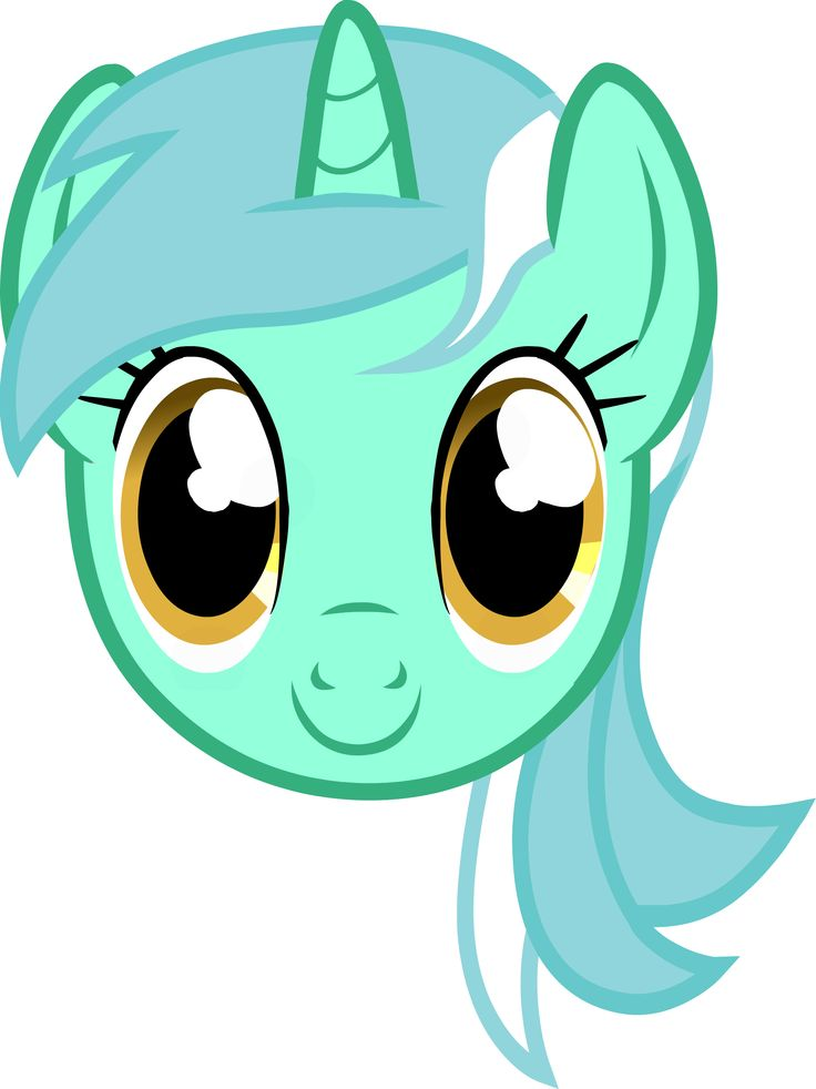 MLP - Lyra Heartstrings Headshot | Headshots of My Little ...