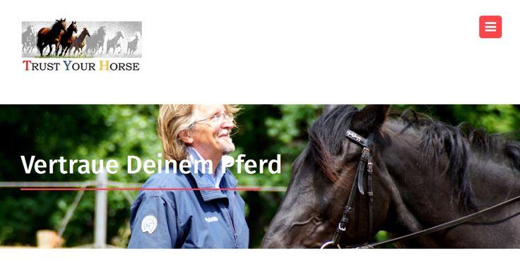 """Der neue und grundlegend überarbeitete TRUST-YOUR-HORSE - WEBAUFTRITT ist ONLINE!   www.trust-your-horse.com Noch strukturierter, übersichtlicher und klarer in der Botschaft! Dazu mit vielen nützliche Tipps und interessanten Informationen rund um den Themenkomplex """"Pferd, Mensch, Reiten"""". (Bild: Irene Schmid)"""