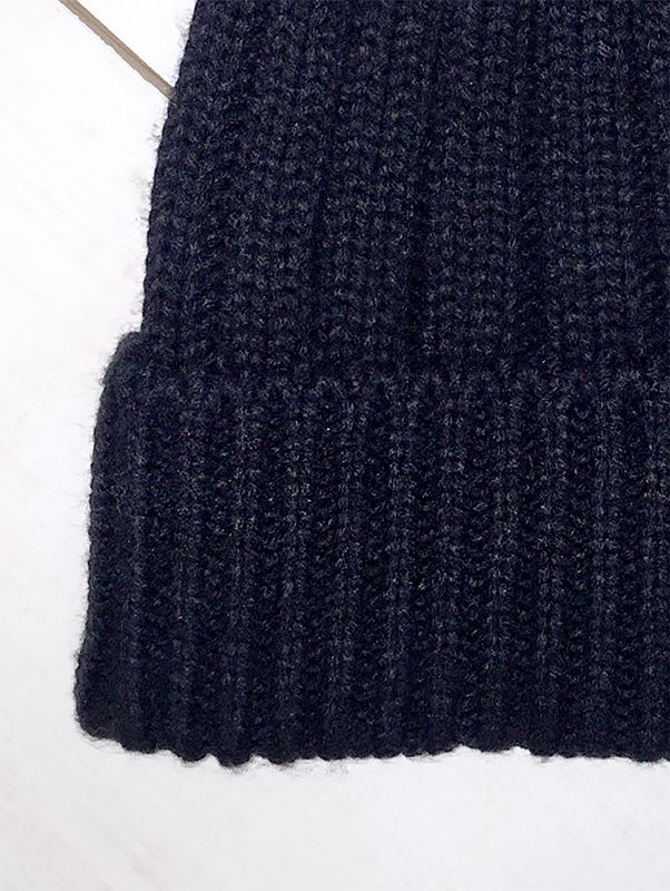 Tu clothing, black bobble hat, winter fashion