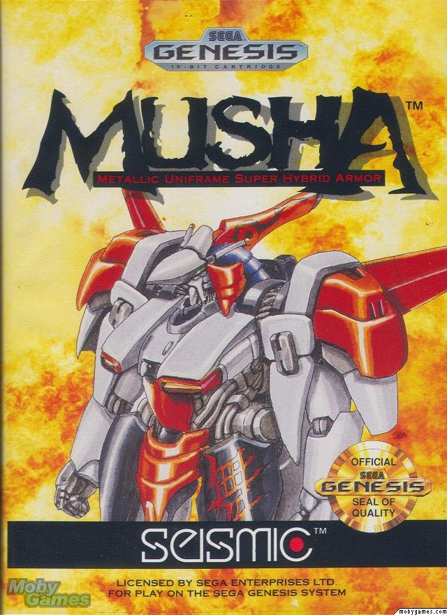 M.U.S.H.A. - Sega Genesis. I'm really obsessed by this game. It makes me love all the shooters!