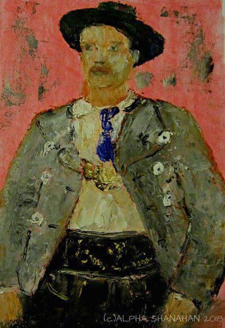 ALPHA SHANAHAN FINE ART: Immigrant Portrait 1.