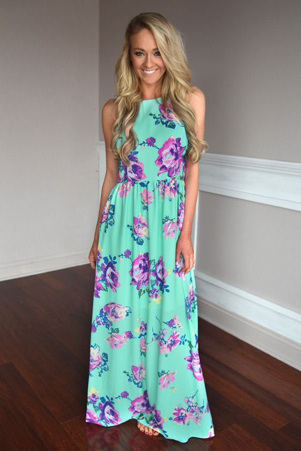 Everly Maxi ~ Feeling Magical in Mint – The Pulse Boutique