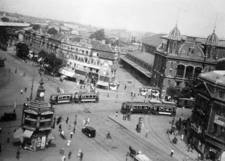 A Nyugati tér 1930-ban
