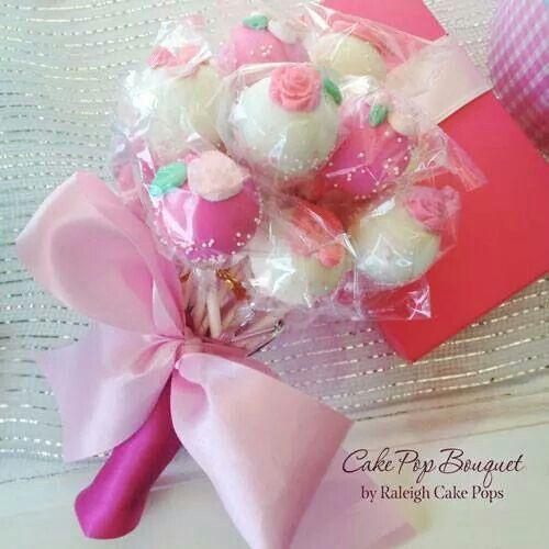 Bouquet de doces rosa