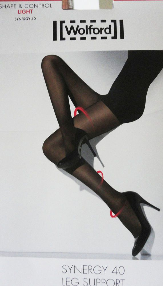 Wolford collant tigths synergy 40 shape and control gambe snelle sexy lusso