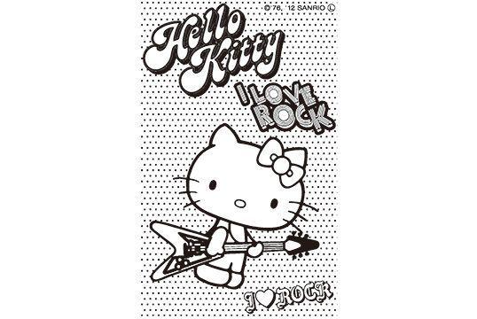 サンビー サンリオ ぬりえすたんぷ ハローキティ SFT-RLLH07│印鑑・はんこ・実印【ハンコヤドットコム】