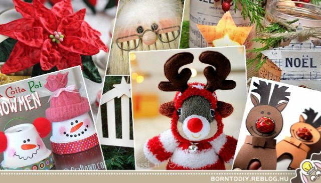 karácsonyi dekorációk és ajándék ötletek 5