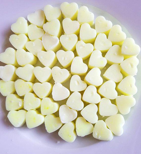 Sweet Pineapple Heart shaped Wax Melts https://www.etsy.com/uk/listing/514228376/sweet-pineapple-heart-shaped-wax