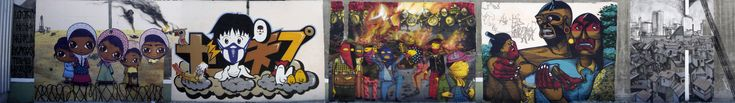 MURAL COLLABORATION OSGEMEOS, LOOMIT, NUNCA AND NINA PANDOLFO | OSGEMEOS Official Website - projects and news