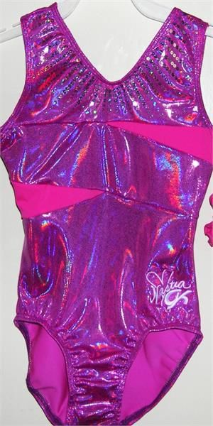 GK Elite Sportswear Discount Leotards Nastia Liukin Gymnastics Leotard E3087 Magenta Majesty Nastia Liukin Leotard