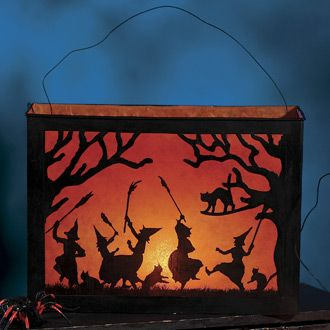 image for a diy lantern for Halloween