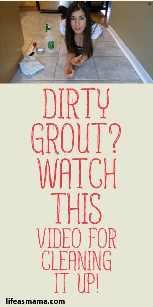 Dirty Grout? Watch This Video For Cleaning It Up! :)
