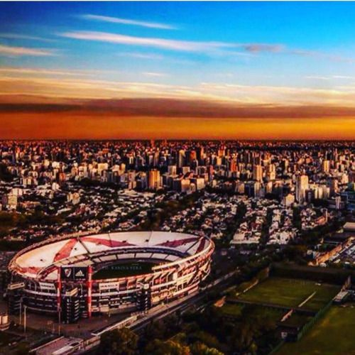 #PaisajesFutboleros #ElMonumental #RiverPlate