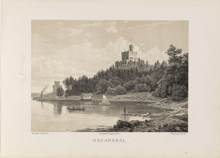 Norge fremstillet i Tegninger - Ukjent - Oscarshal. jpg (6088×4360)