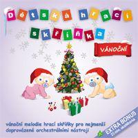 Dětská hrací skříňka - Vánoční koledy