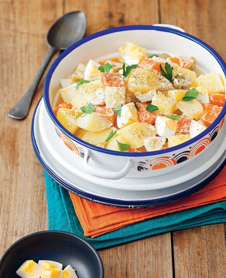 Brazilian potato salad by Rachael Lane from South American Grill | Cooked