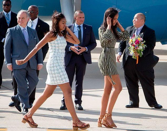 Las hijas de Obama de compras en Primark