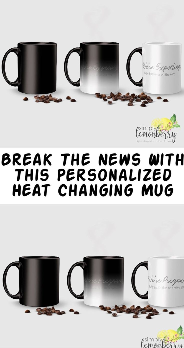 prissy ideas his and her coffee mugs. Love to surprise my husband and family using this personalized heat  changing mug Its going be fun Pregnancy reveal ideas for dad Best 25 Annonce grossesse Prissy Ideas His And Her Coffee Mugs Home Design Plan