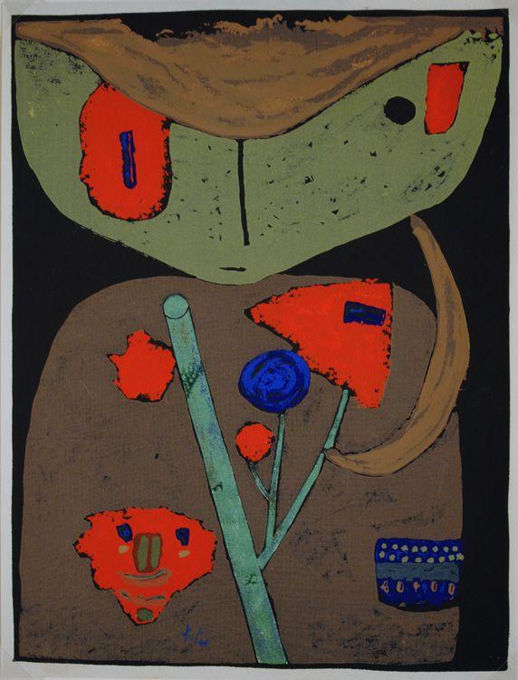 Figure of the Oriental Stage by Paul Klee, ca.1940