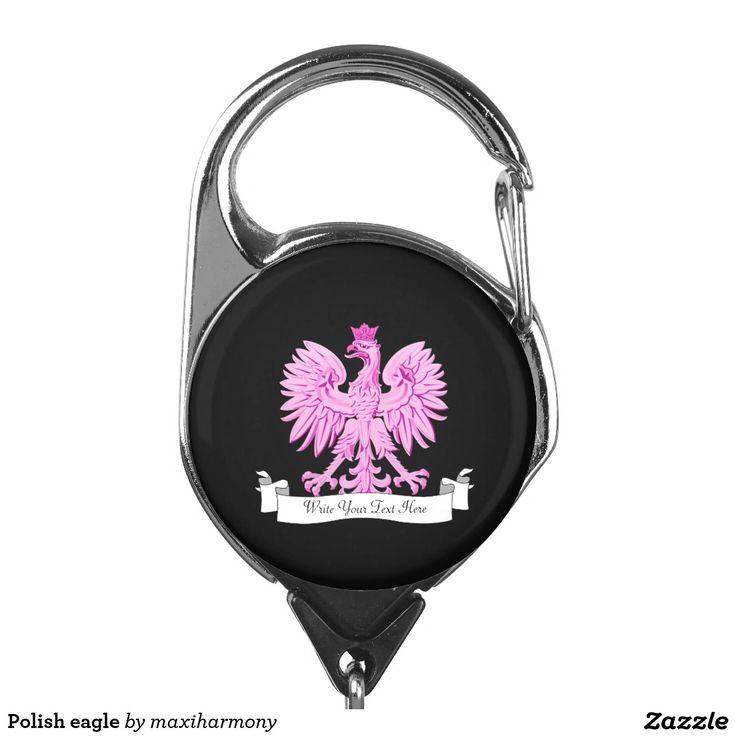 Polish eagle badge holder
