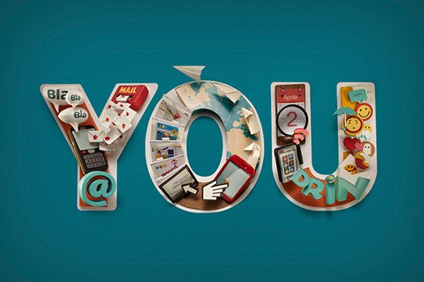 Vodafone - You by DADOMANI studio, via Behance
