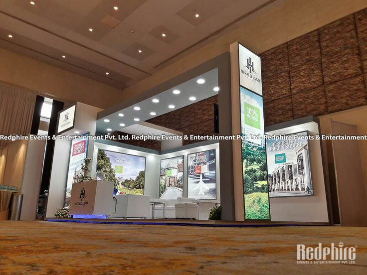 Property Exhibition Booth : Best stall designing fabrication management for