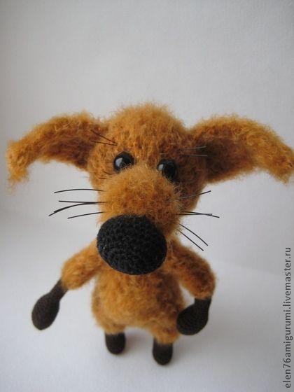 Лисёнок Вук - рыжий,лиса,игрушки ручной работы,Вязание крючком,вязаная игрушка