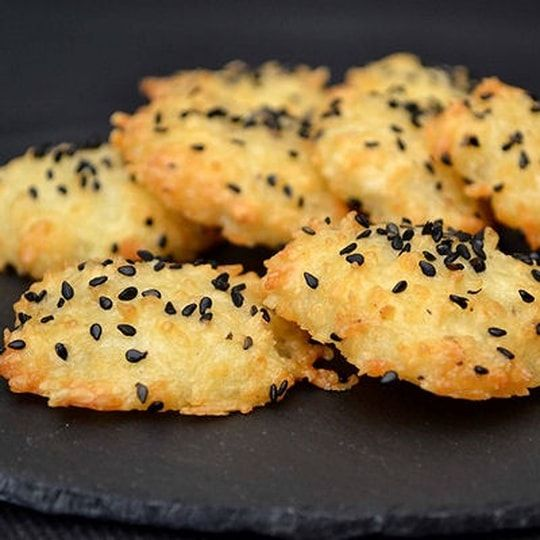 Biscuits apéritifs aux 3 fromages