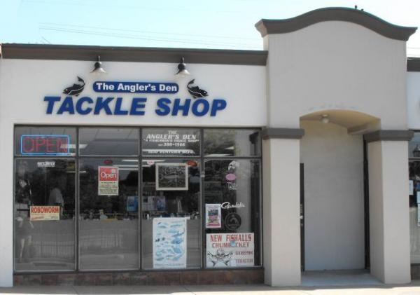 The Angler's Den is located in Camarillo Old Town, less than 30 minutes from great fishing at Lake Casitas or Port Hueneme on the Pacific. We sell frozen bait & chum, fishing licenses, custom rods and tackle from makers like Zukers, Tady, Shimano, Rod Building Supplies, Rod & Reel Repair, Robo, Penn, P-Line, Newell, Maxima, Lucky Craft, Izorline, Graftech, G Loomis, Calstar and Ande. We can also repair your gear and reload your reels with almost any weight line. Come in and see what we've…