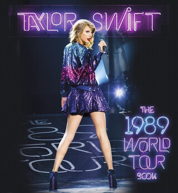 HQ of the 1989 World Tour Book Cover